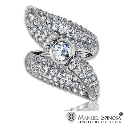 spectacular master diamond ring