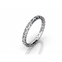 Stylish Diamond Wedding Ring