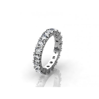 contemporary diamond wedding ring