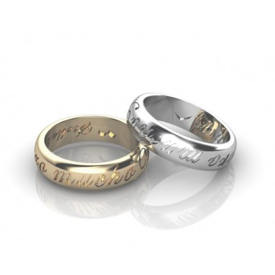 personalized designer ring band