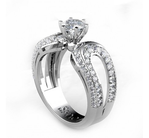spinosa´s solitaire engagement ring