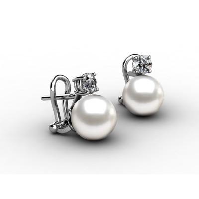 "Pearl Earrings ""You & Me"""