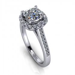 Engagement Diamond Cushion Cut