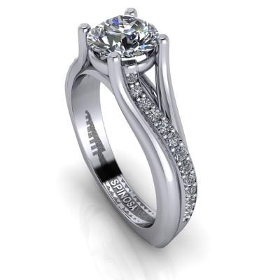 Modern Brilliant Ring