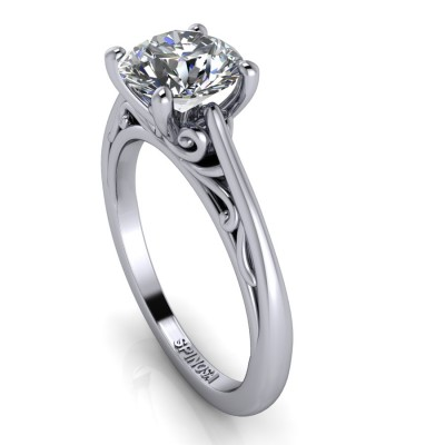 Filigree Brilliant solitaire