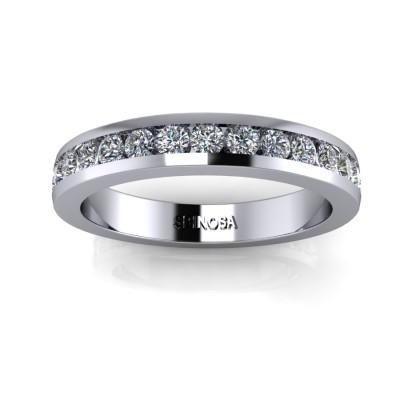 Eternity Channel Diamond Ring