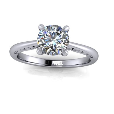 Vintange Oval Diamond cut Ring