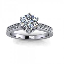Solitario Diamantes 6 garras