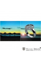 "Abstract Ring ""Sol of Marbella"""
