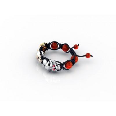 Bracelet with gemstones