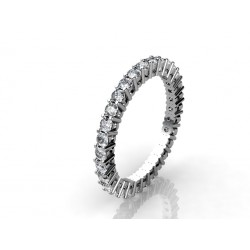 contemporary diamond wedding ring