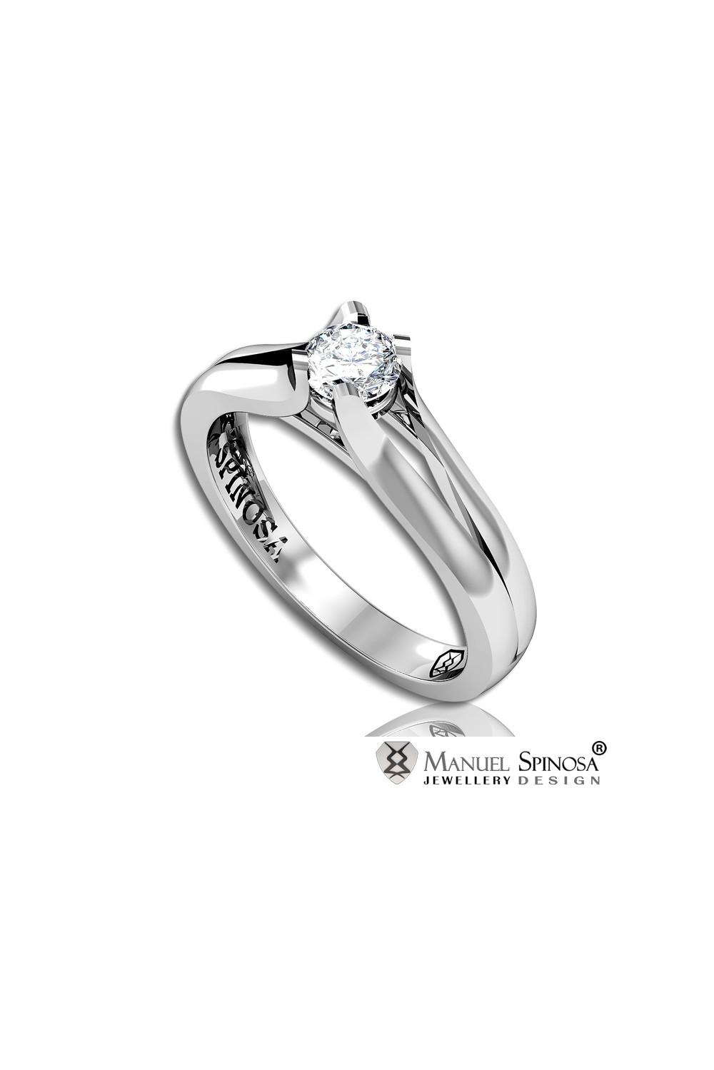 Multi modern diamonds engagement rings in Málaga Marbella