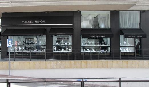 Ювелирный магазин Мануэль Спиноса в Марбелье